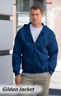 Gildan Jacket & hoodies