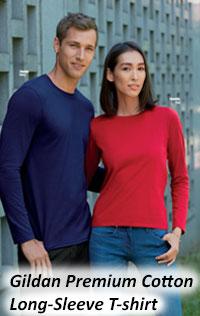 Gildan Premium Cotton Long Sleeve Tshirt