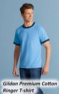 Gildan Premium Cotton Ringer Tshirt 76600