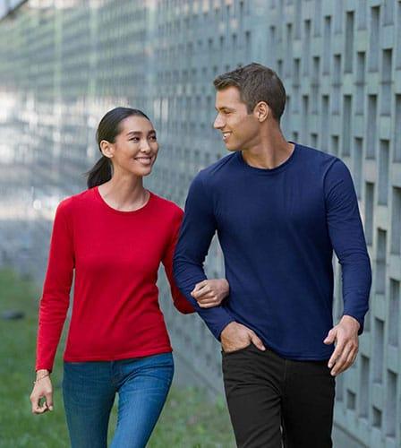 Gildan Premium Cotton Long-sleeve Tshirt