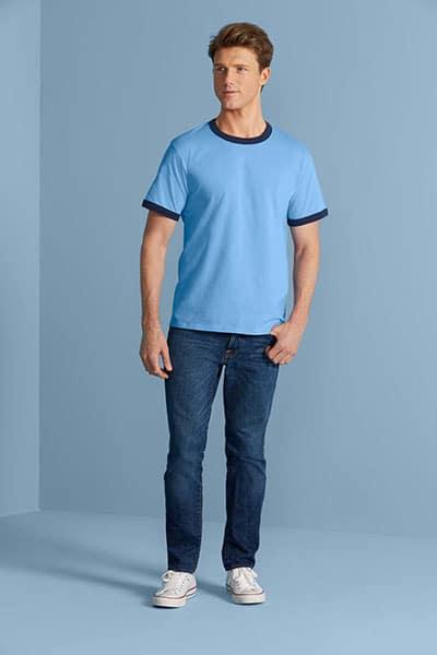 Gildan Premium Cotton Ringer Tshirt