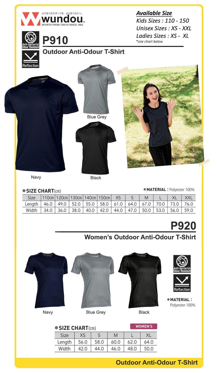 Outdoor Anti-Odour Tshirt